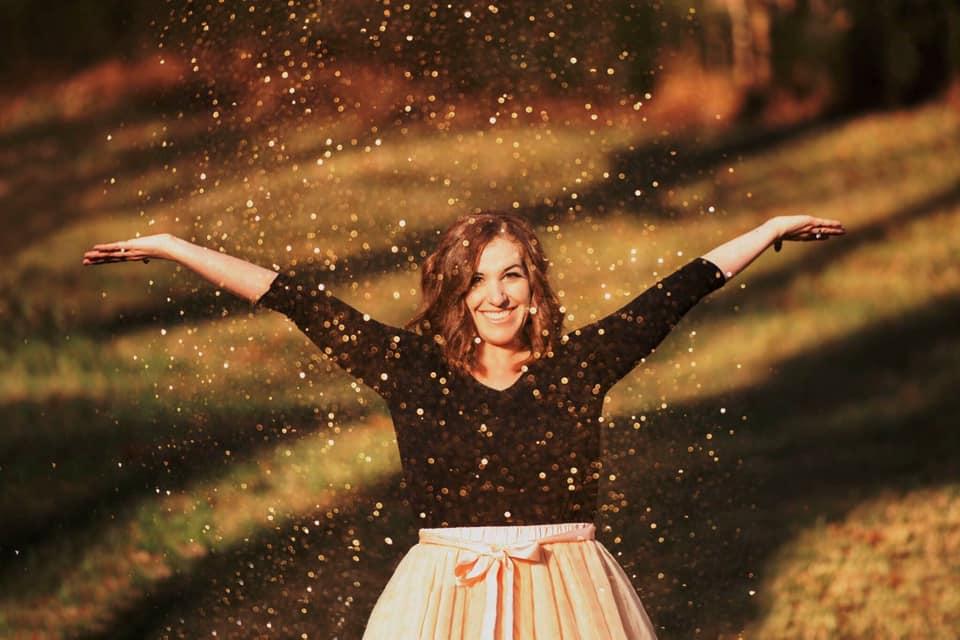 Glitter Toss Photoshoot