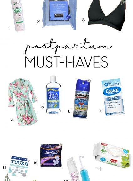 Post-Partum Must Haves