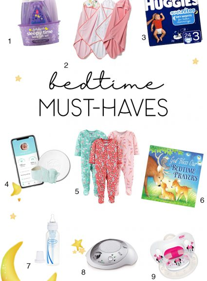 Our Bedtime Routine (and Must-haves!)