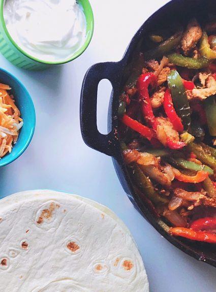 Delicious (and Easy) Chicken Fajitas!