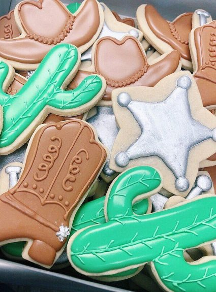 """""""Giddyup"""" Western Cookies"""
