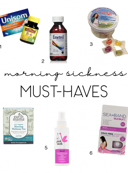 Morning Sickness Must Haves