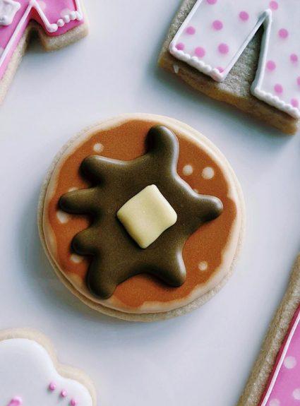 Pancake Party Cookies!