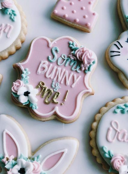 Some-bunny is One Cookies