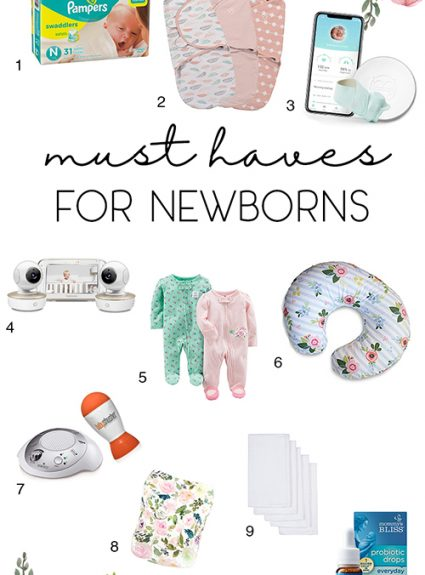 Must-Haves for Newborn Life