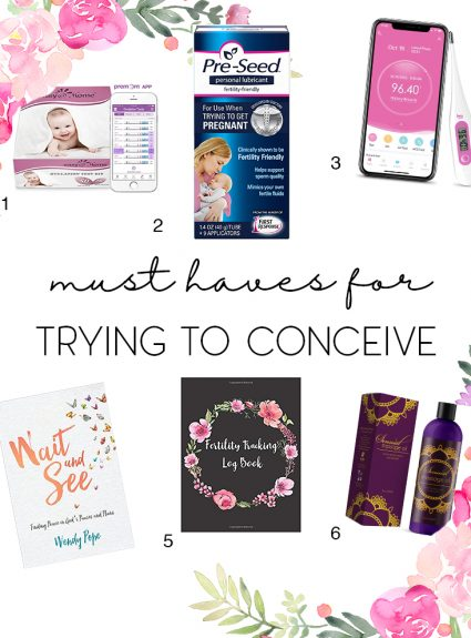 Must Haves When Trying to Conceive