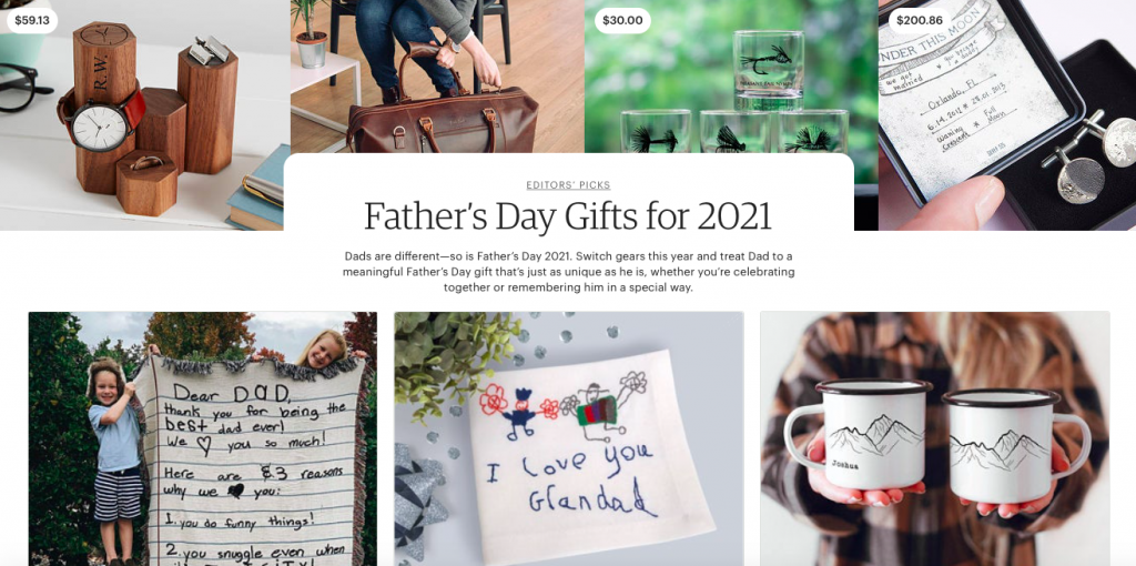 Etsy Father's Day Gifts