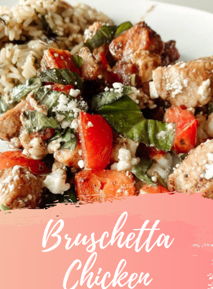 Easy Bruschetta Chicken