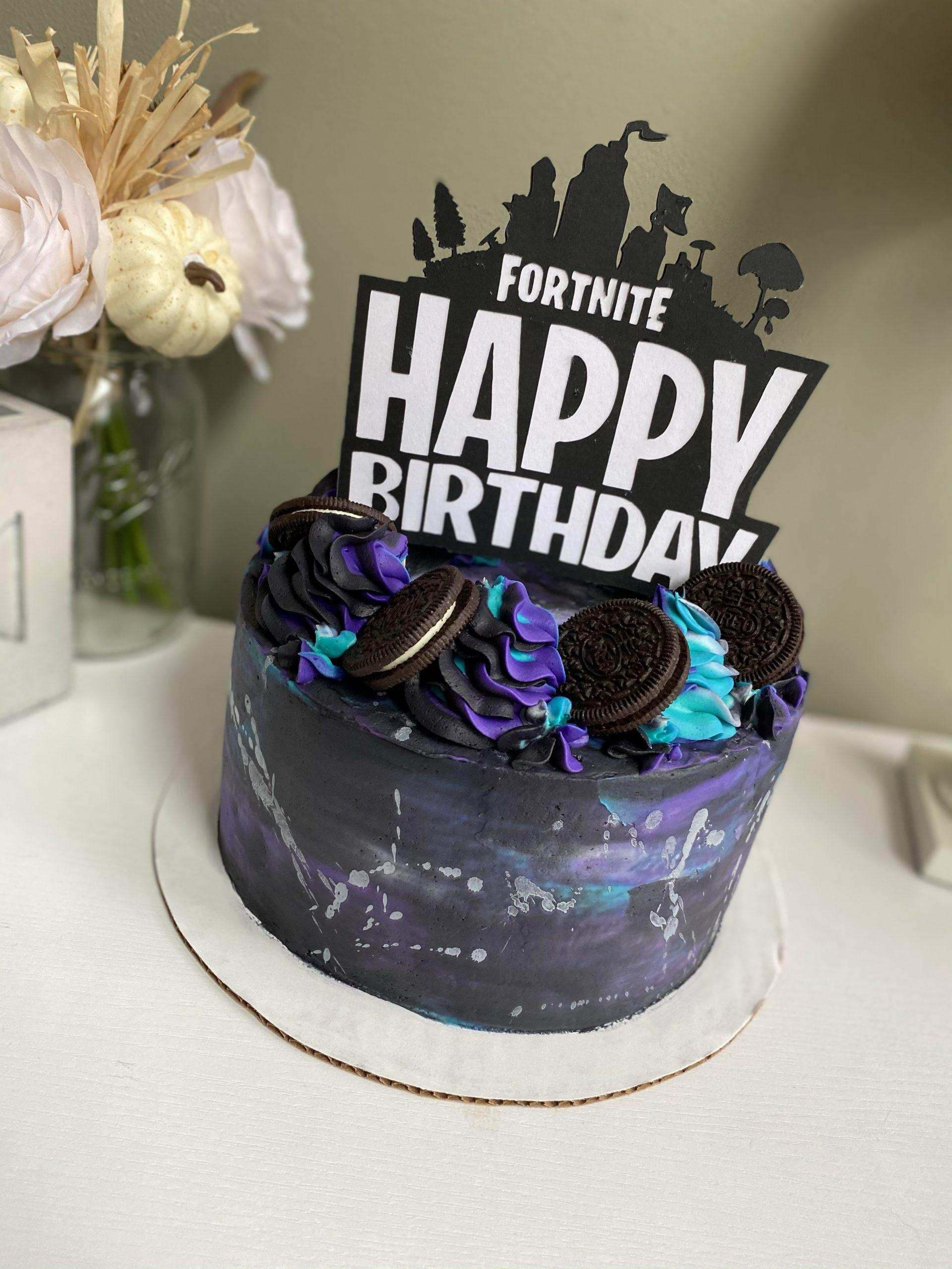 A Fun Fortnite Cake Kisses Caffeine All fortnite birthday cake locations. a fun fortnite cake kisses caffeine