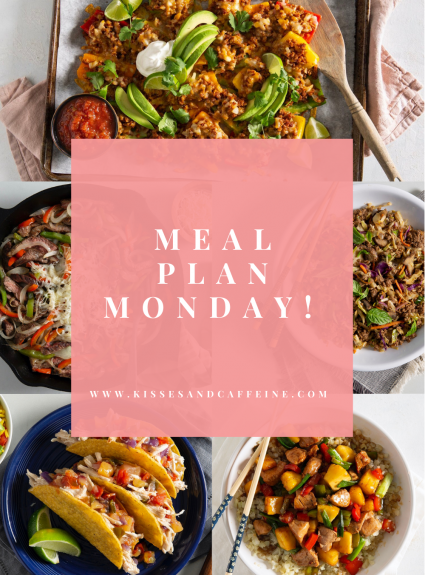 Meal Plan Monday: March 8th-14th