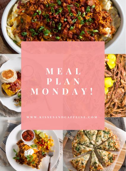 Meal Plan Monday: March 29th-April 4th