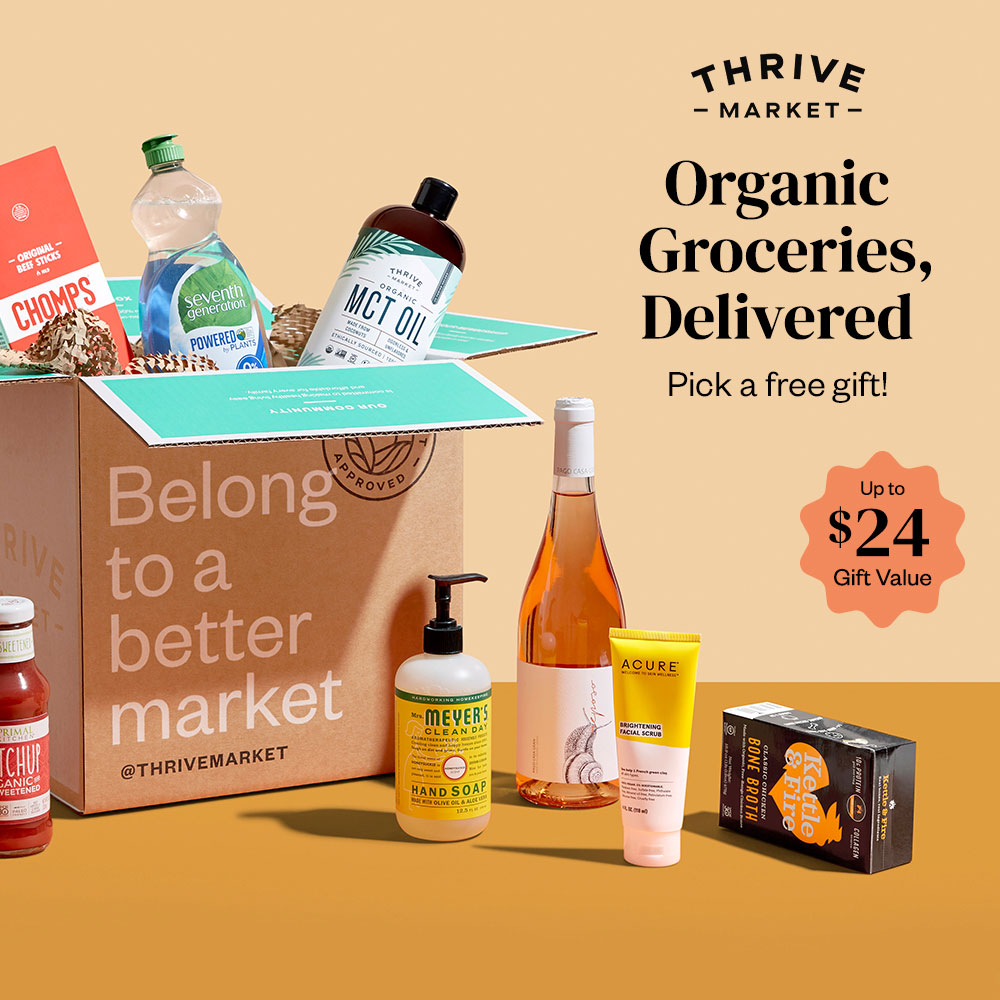 Thrive Market Delivery baby shower gift