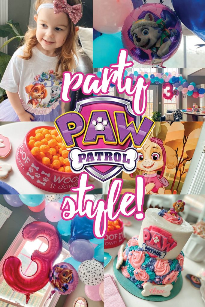 Girly Paw Patrol Birthday Party