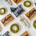Farmhouse Style Housewarming sugar cookie set