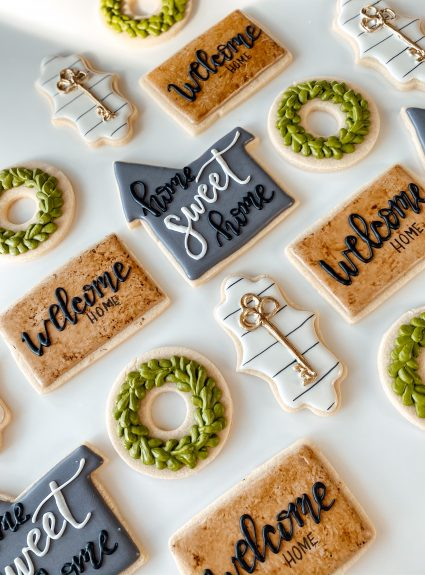 Sweet Housewarming Cookies