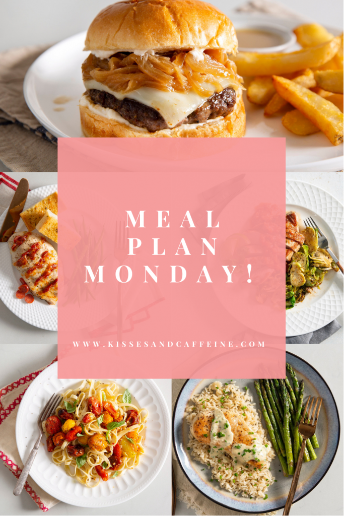 A full week of meal recipes