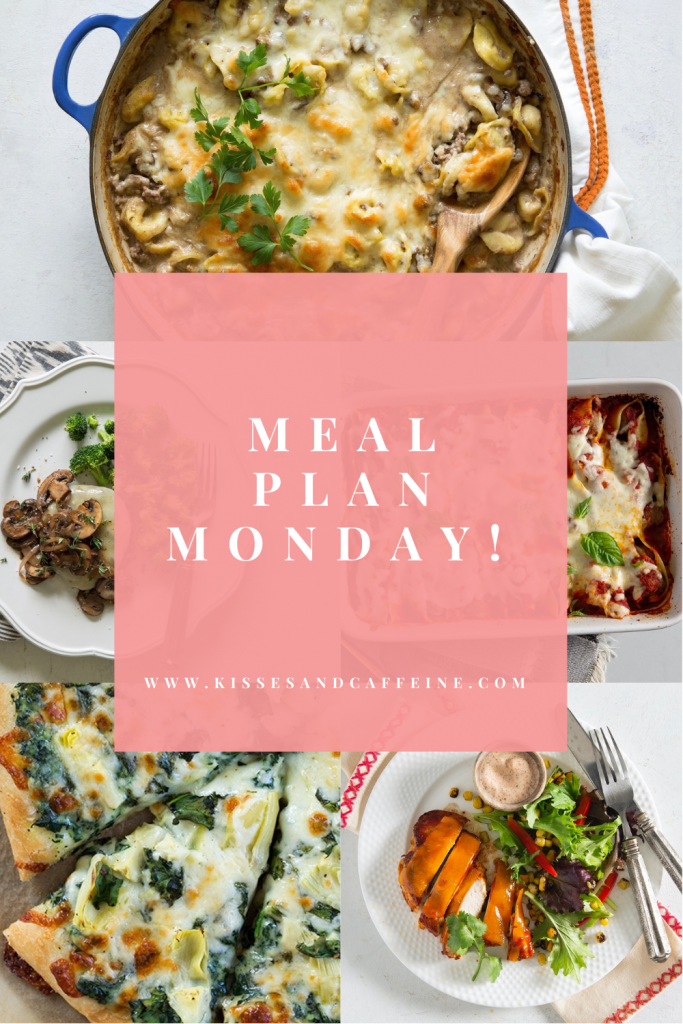 Meal Plan Monday: A week of recipes