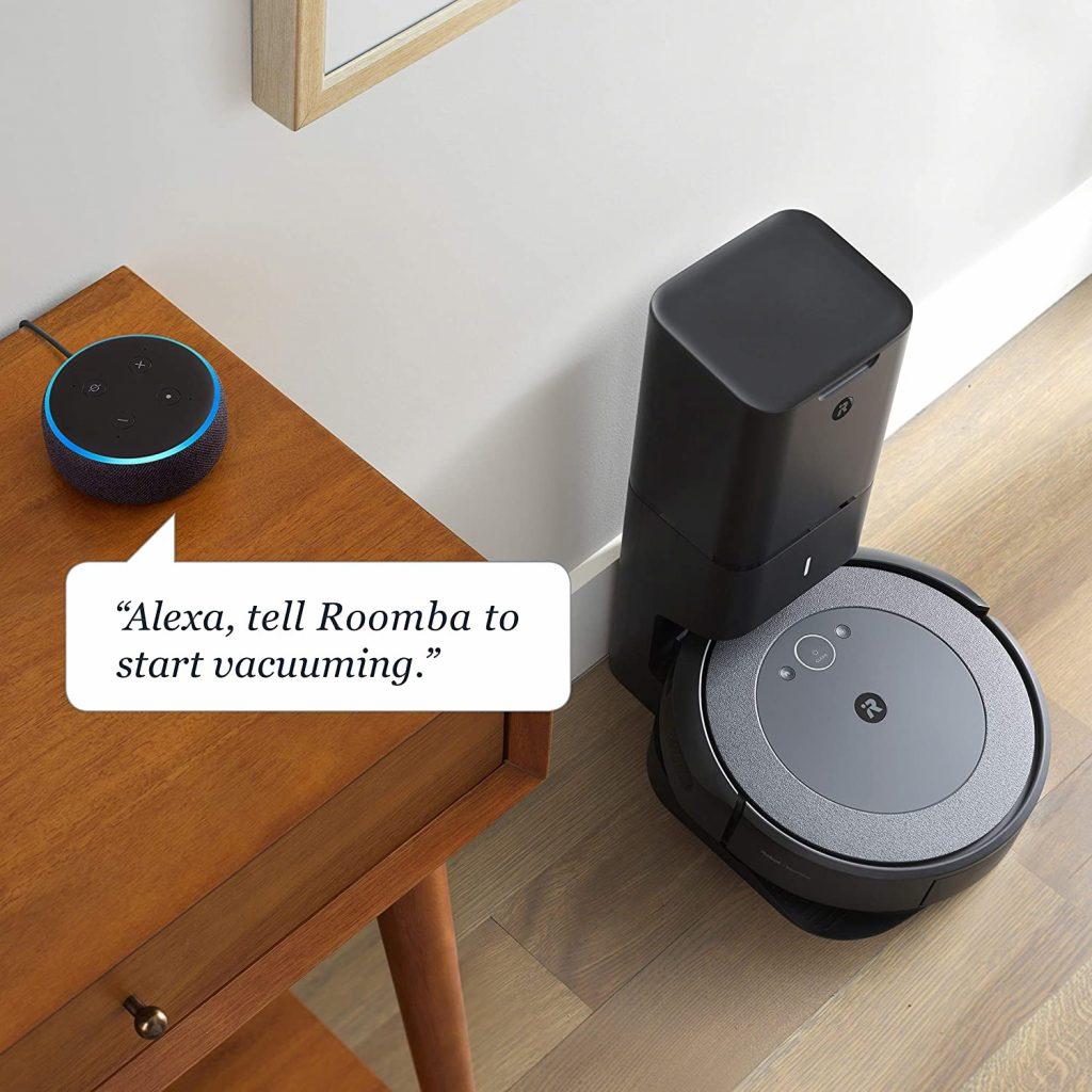self-emptying iRobot Roomba