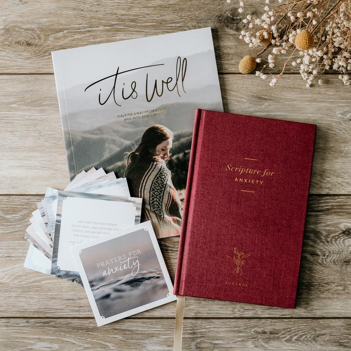 Prayers and Scripture for anxiety