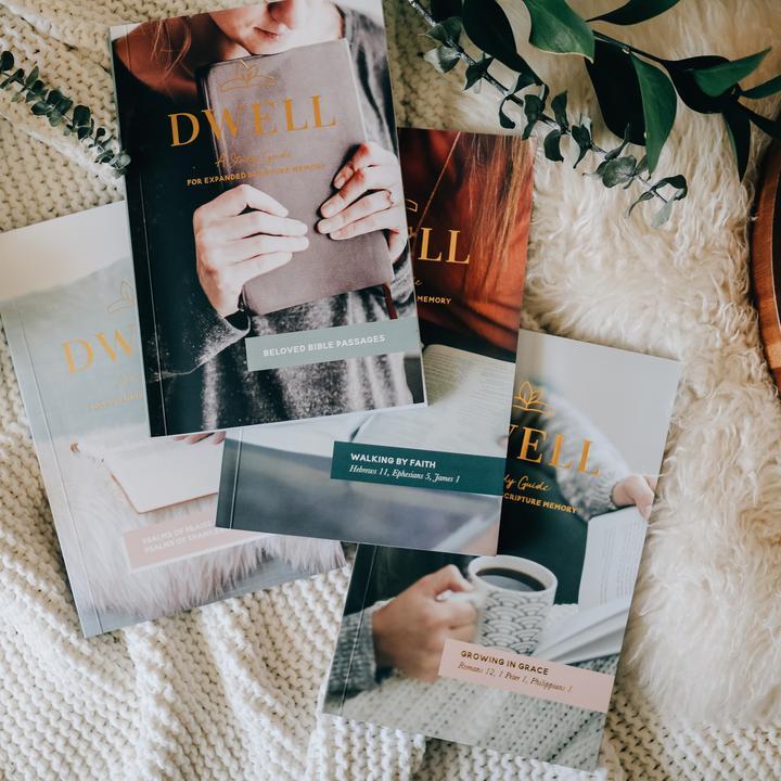 Dwell Scripture Memory Journals