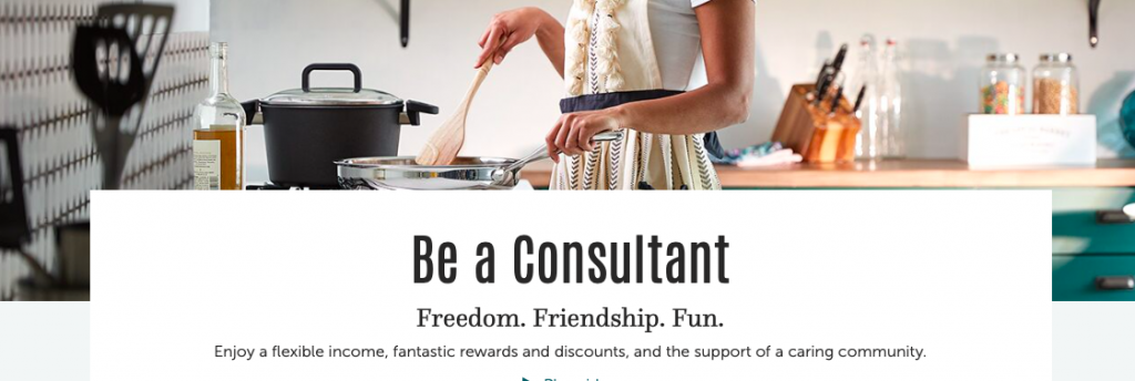 Become a Pampered Chef Consultant