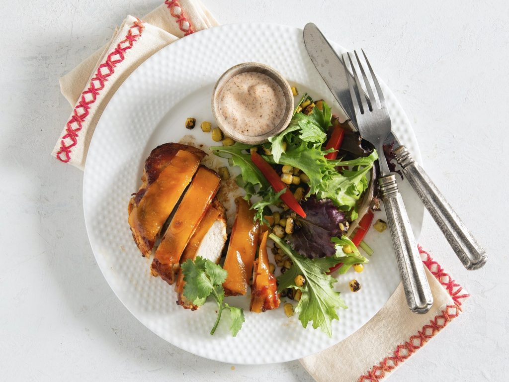 Cheddar Barbecue Chicken Recipe