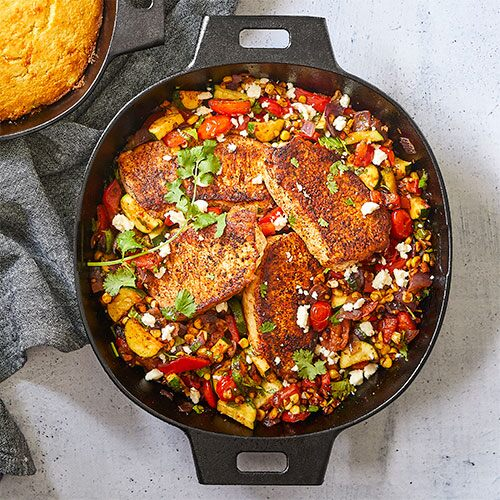 Pampered Chef Cast Iron Skillet