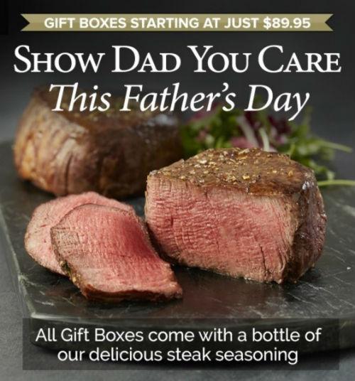 Chicago Steak Company Boxes