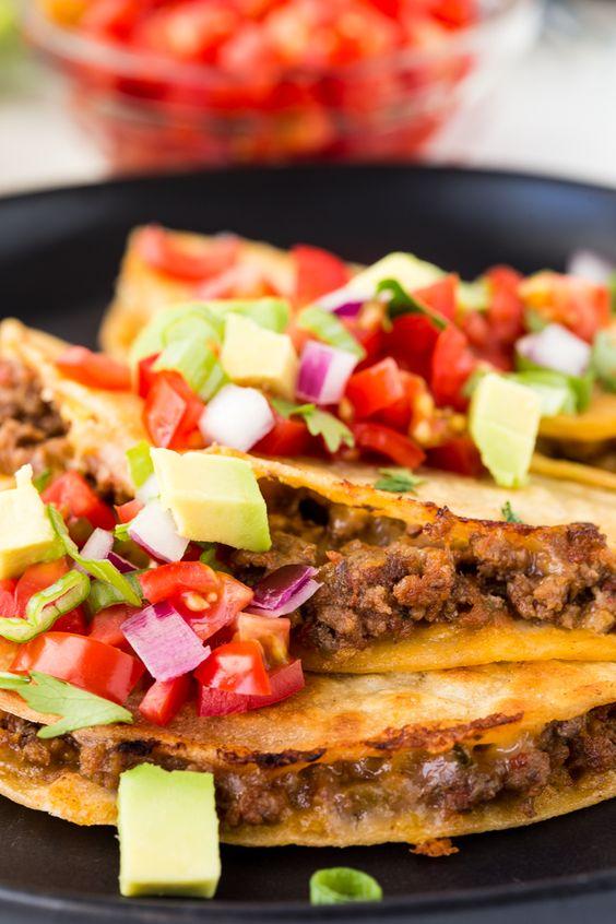 Griddle Beef Tacos