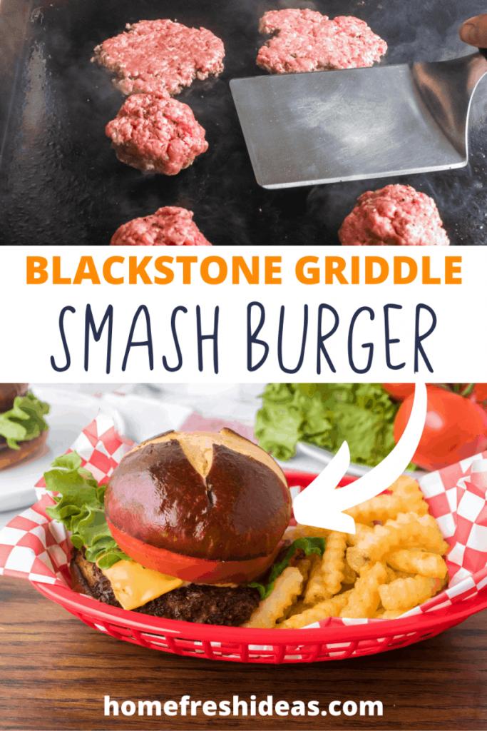Blackstone Griddle Juicy Smash Burgers
