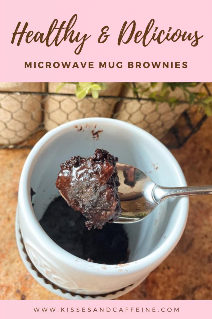 Healthy and Delicious Microwave Mug Brownies