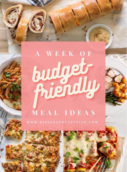 A Week of Budget-Friendly Meals