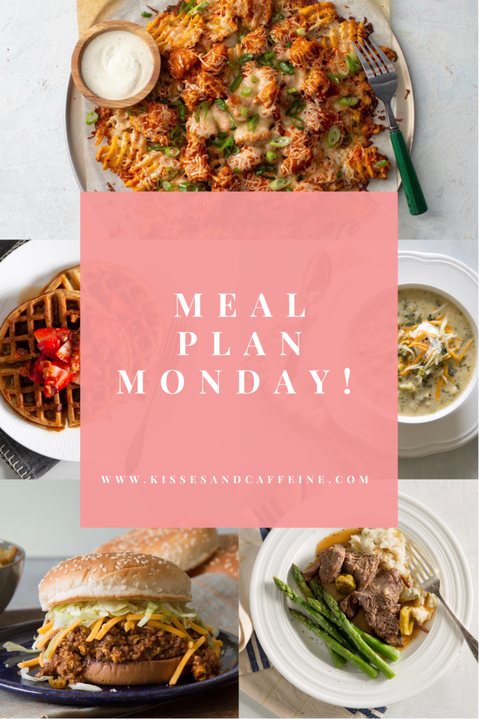 A Week of Recipes for easy meal planning!