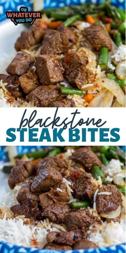Blackstone Steak Bites