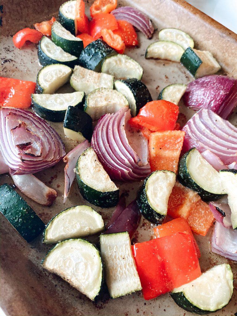 Bar Pan Roasted Vegetables