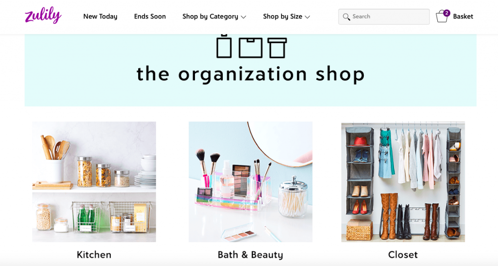 Total home organization shop
