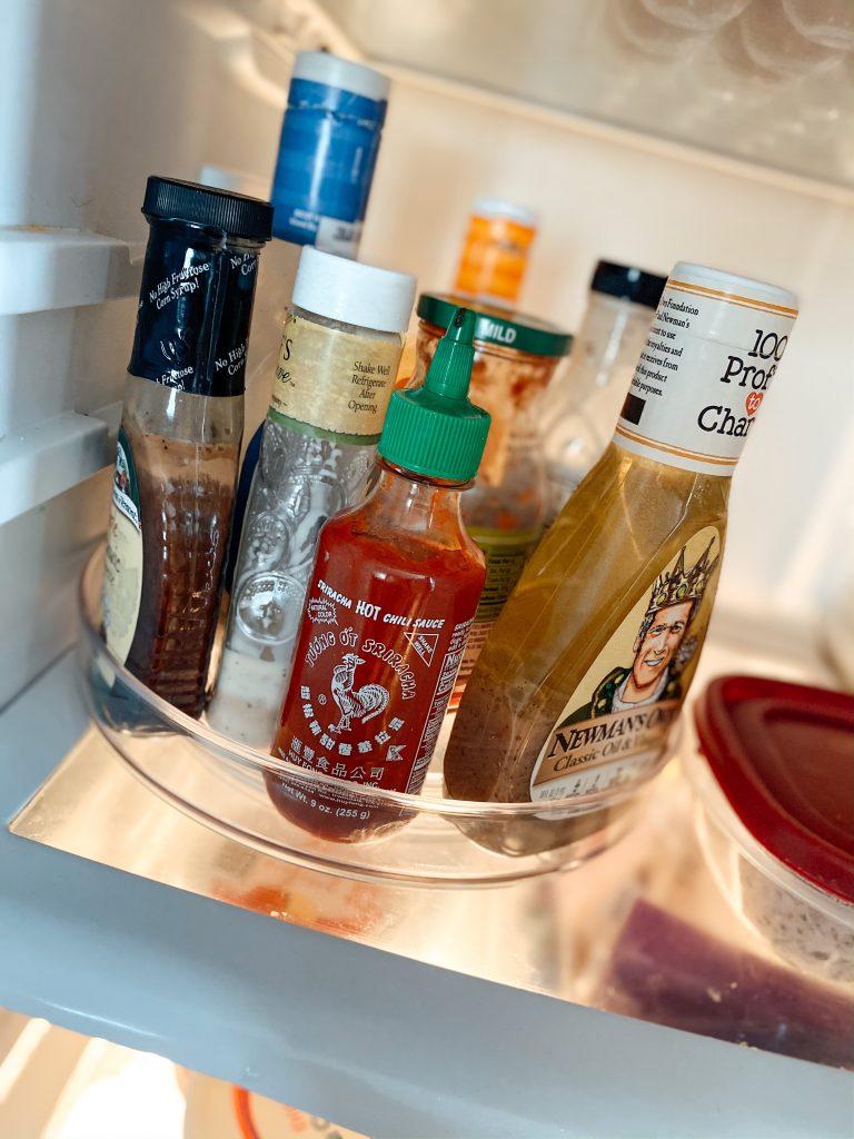 Refrigerator lazy susan