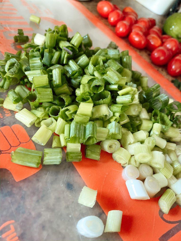 Sliced Green onions
