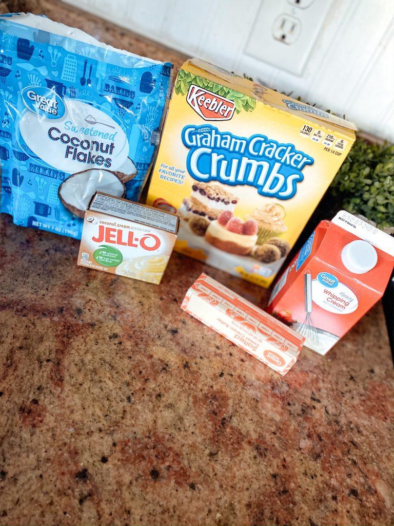 Icebox Coconut Cream Pie Ingredients