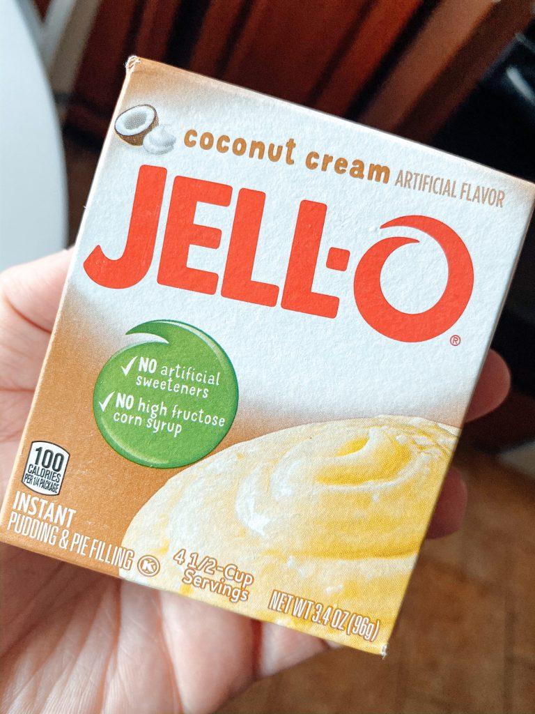 Jello Coconut Cream Powder