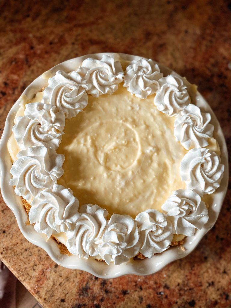 Easy Icebox Coconut Cream Pie