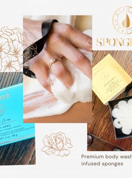 Spongellé: The Body Wash-Infused Sponge You Never Knew You Needed