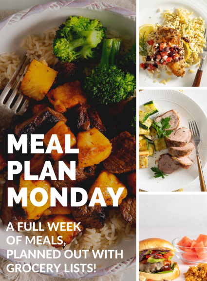 Meal Plan Monday: July 19th-25th