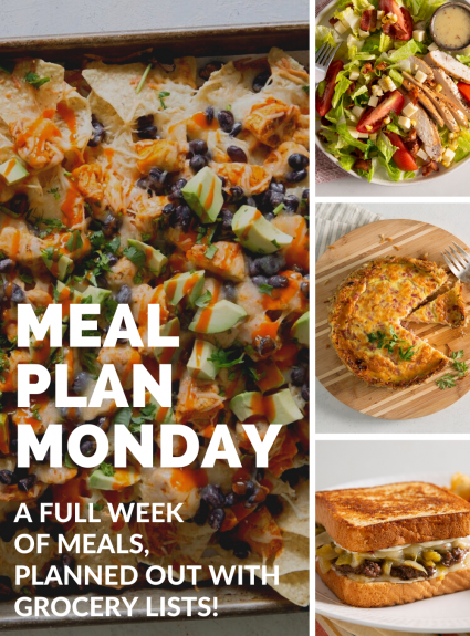 Meal Plan Monday: July 5th-11th