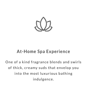 At-home spa experience
