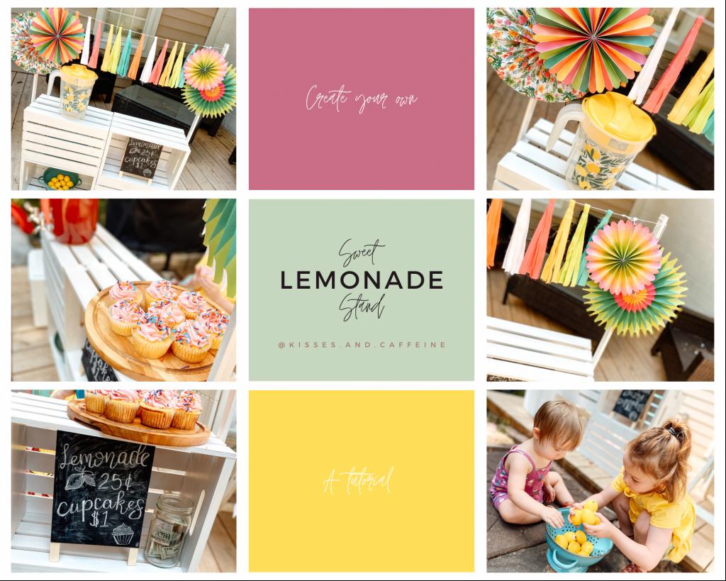 DIY Sweet Lemonade Stand