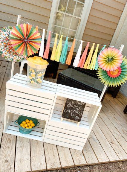 A Sweet Little Lemonade Stand: A DIY Tutorial