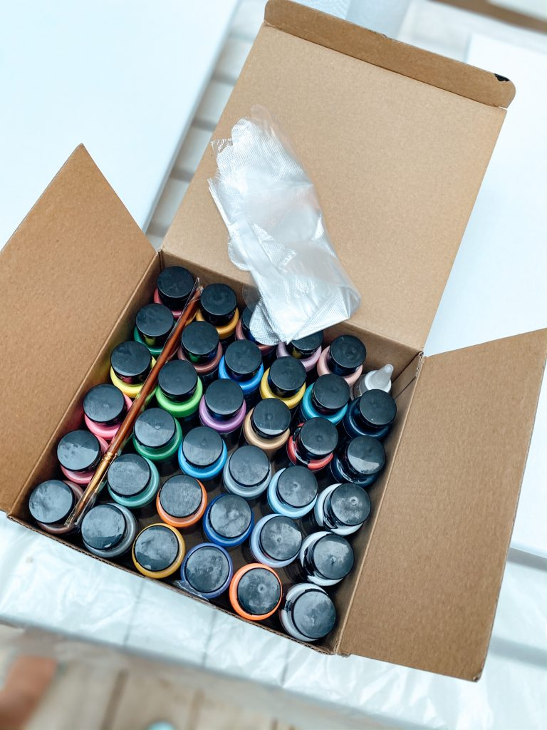 Complete Pour Painting Kit