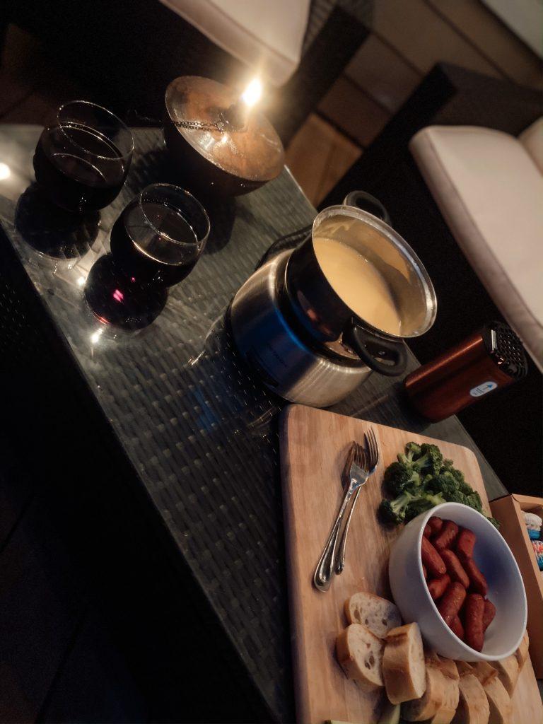 Fondue Date Night