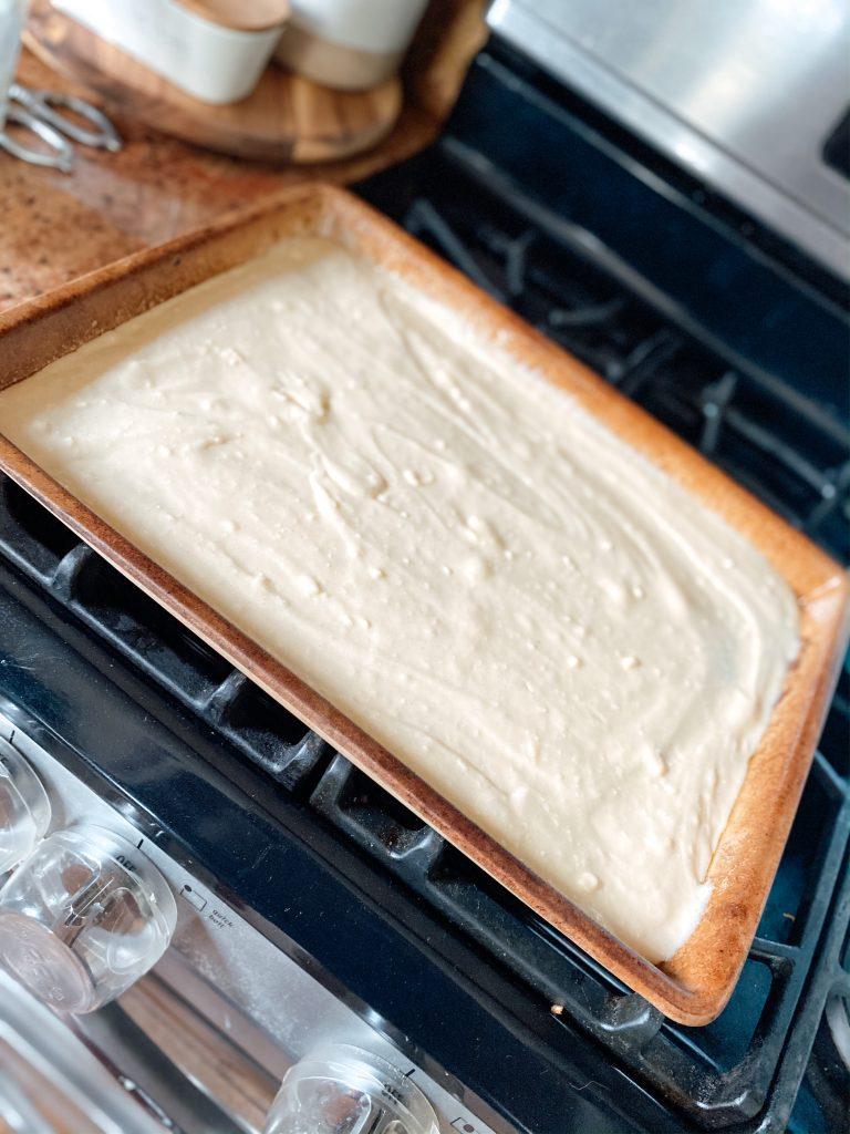 Bar Pan with Cake Mix